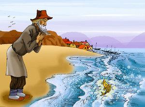 Chuyện ông lão đánh cá và con cá mập