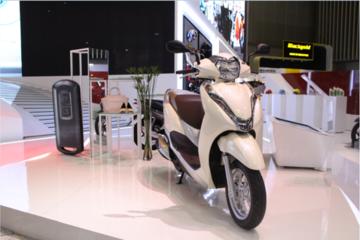 Những mẫu xe tay ga đáng chú ý tại triển lãm xe máy Việt Nam 2017