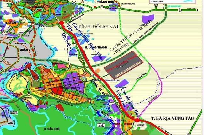 Chuẩn bị đầu tư cao tốc Biên Hòa - Tân Thành - cụm cảng Cái Mép Thị Vải