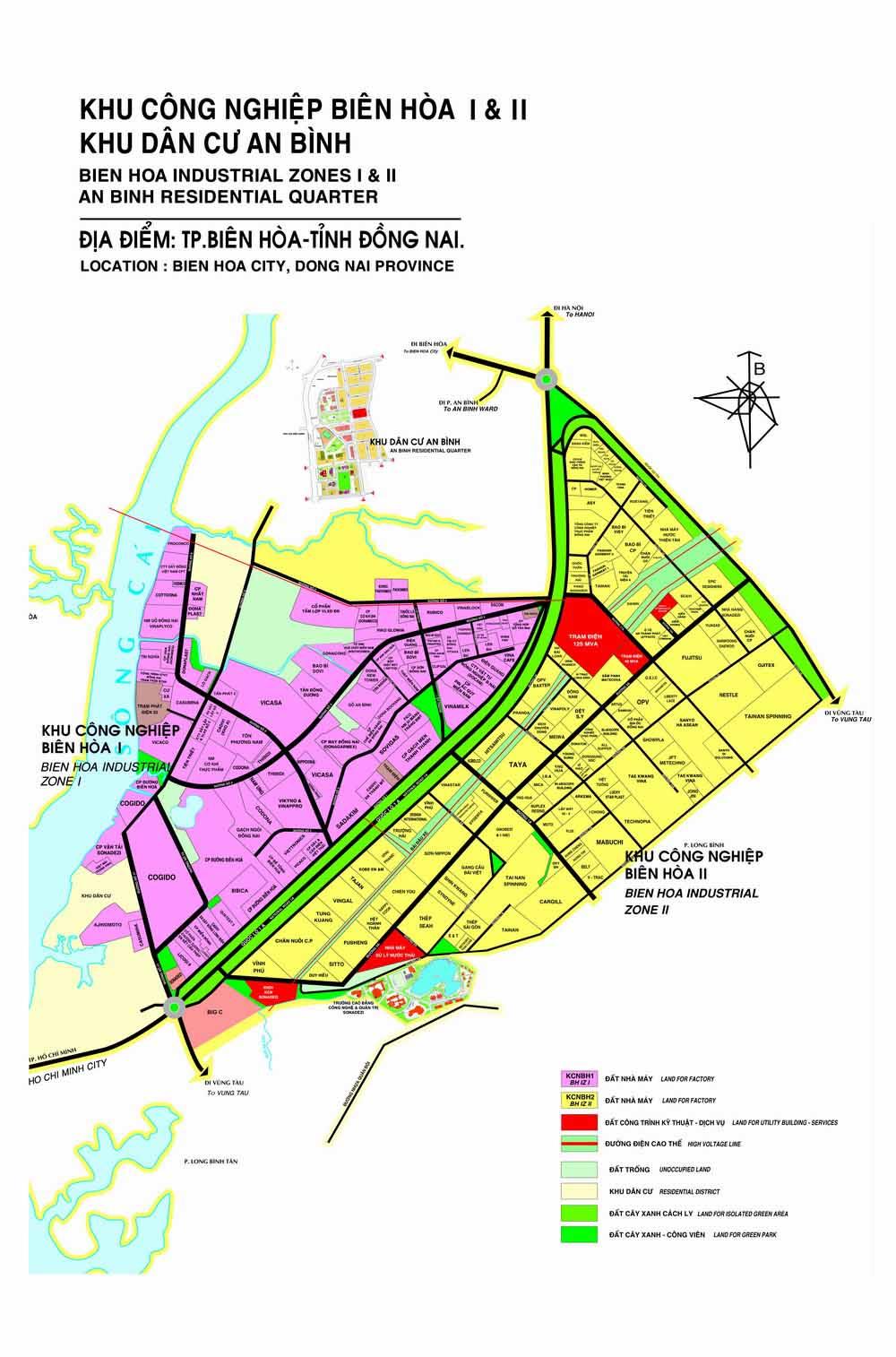 3 phương án di dời KCN Biên Hòa 1 để làm khu đô thị 324 ha