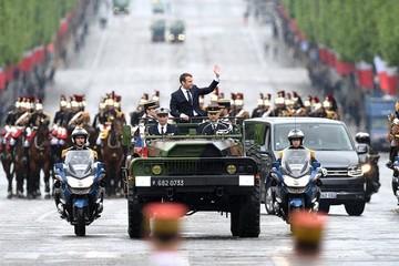 Toàn cảnh lễ nhậm chức của ông Macron