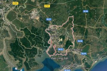 Thành lập thị xã Phú Mỹ thuộc tỉnh Bà Rịa - Vũng Tàu
