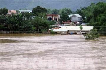 Mưa lớn trên diện rộng, một số nhà máy thủy điện tại Quảng Nam xả lũ
