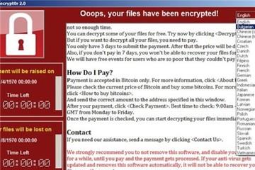 5 máy tính cơ quan nhà nước tại TP.HCM nhiễm WannaCry