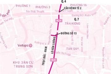 Lên phương án mở rộng đường Lê Văn Lương