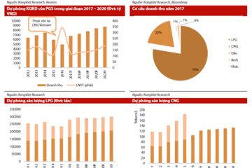 PGS: Tăng trưởng tích cực trong phân khúc LPG