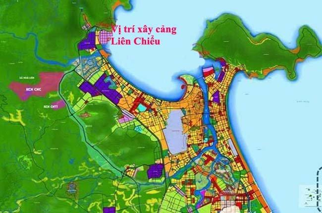 Đà Nẵng xây cảng Liên Chiểu giảm tải cho cảng Tiên Sa