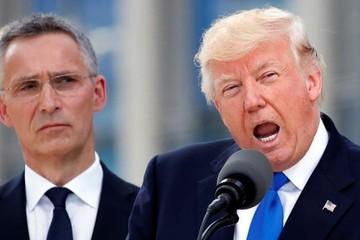 Thăm châu Âu, Tổng thống Trump kịch liệt chỉ trích NATO