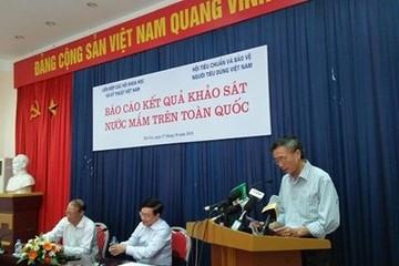 Tự công bố khảo sát chất lượng nước mắm, Vinatas bị phạt 15 triệu đồng