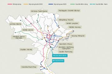 [Infographic] Những tuyến cao tốc sắp được đầu tư xây dựng tại Việt Nam