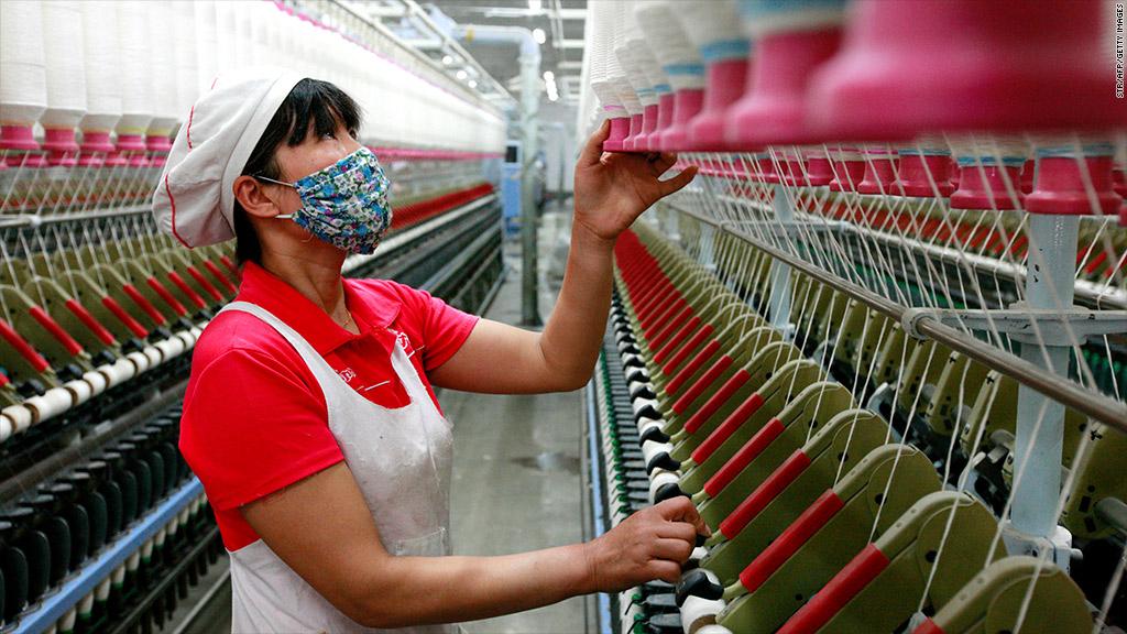 Chỉ số PMI tháng 5 của Trung Quốc đạt 51,2 điểm, đánh dấu tháng thứ 10 liên tiếp trên ngưỡng 50