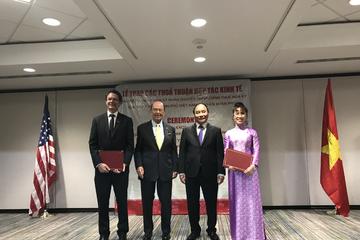 Vietjet ký các hợp đồng trị giá gần 4,8 tỉ USD trong chuyến thăm Mỹ của Thủ tướng