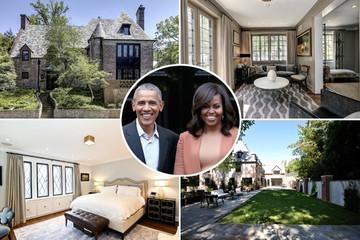 Gia đình ông Obama chi 8,1 triệu USD mua nhà ở Washington, gần nhà CEO Amazon