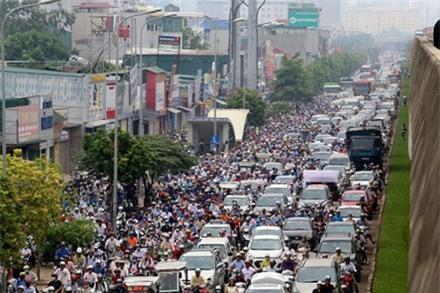 Hà Nội dự kiến cấm xe máy ở nội thành từ năm 2030