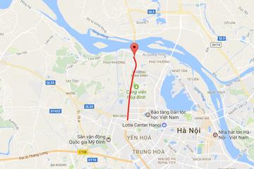 Cầu cạn đoạn Mai Dịch - Nam Thăng Long thuộc đường Vành đai 3 khi nào hoàn thành?