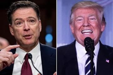 """Luật sư của ông Trump: Ông Comey """"không được phép"""" tiết lộ cuộc gặp với tổng thống"""