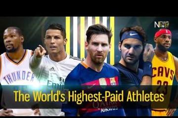 [Infographic] Top 10 vận động viên có thu nhập cao nhất thế giới