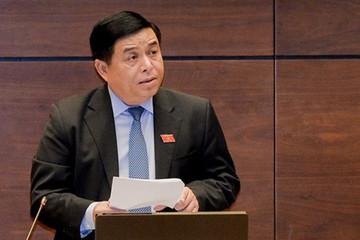 Hai Bộ trưởng Y tế và Kế hoạch - Đầu tư đăng đàn trả lời chất vấn