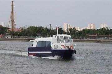 Dự kiến đưa tuyến buýt đường sông đầu tiên vào hoạt động trong tháng 7/2017