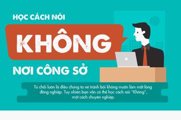 """[Infographic] Học cách nói""""Không"""" nơi công sở"""