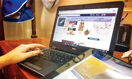 """Hàng vạn tài khoản kinh doanh online vào """"tầm ngắm"""" thu thuế"""