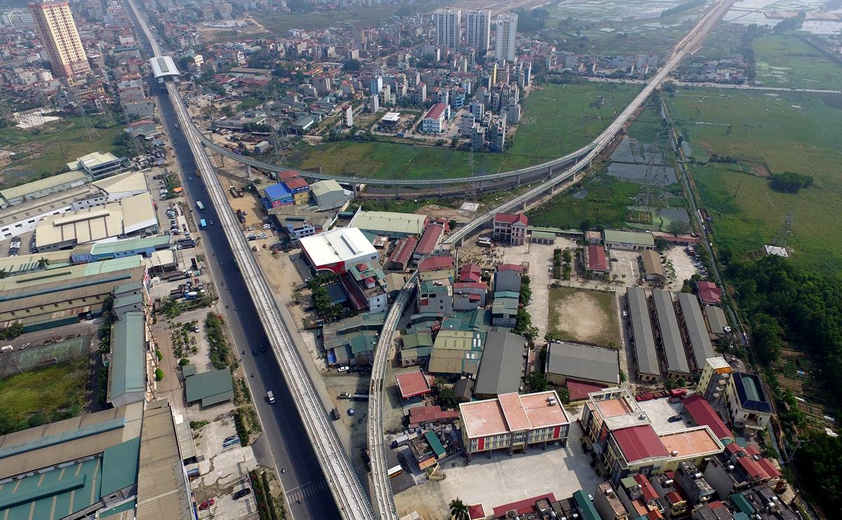 Đường sắt đô thị đoạn Nhổn - ga Hà Nội đã ký hợp đồng 8 gói thầu