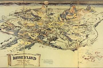 Bản đồ Disneyland gốc của Walt Disney bán với giá hơn 16 tỷ đồng