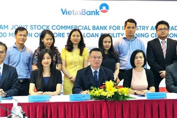 VietinBank vay 100 triệu USD của 8 định chế nước ngoài