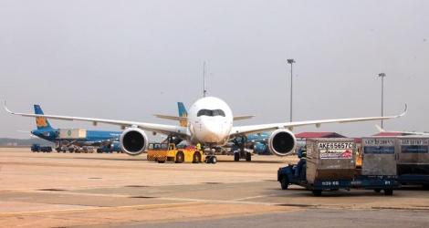 Công ty HGS phục vụ cho 24 hãng Hàng không quốc tế tới Nội bài