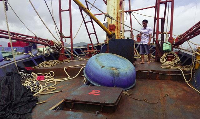 Nghiên cứu gia hạn nợ, ân hạn cho tàu cá 67 nằm bờ do hư hỏng