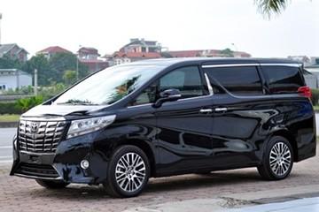 Toyota Alphard chuẩn bị phân phối tại Việt Nam