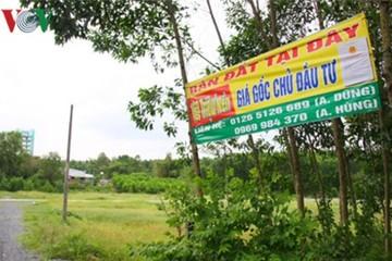 Giá đất vùng quy hoạch Sân bay Long Thành tăng chóng mặt