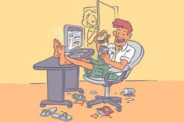 6 điều bạn tuyệt đối không nên làm tại nơi làm việc