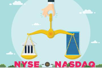 [Infographic] Sự khác biệt giữa hai sở giao dịch chứng khoán NYSE vs NASDAQ