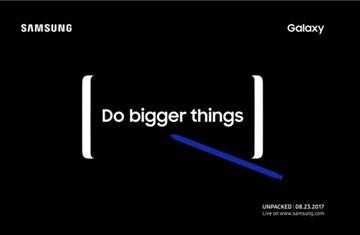 Samsung chính thức gửi thư mời dự sự kiện ra mắt Galaxy Note 8