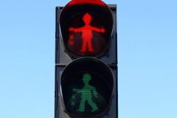 Tín hiệu đèn giao thông độc đáo của Đức