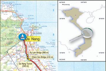 Ngày 2/8 thông xe tạm 65km cao tốc Đà Nẵng - Quảng Ngãi