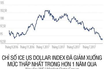 USD giảm giá: Nỗi đau đầu mới của các ngân hàng trung ương