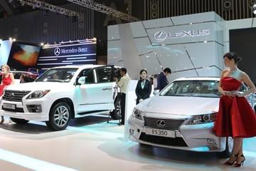 Người Việt chi hơn 1,2 tỷ USD mua ô tô ngoại trong 7 tháng