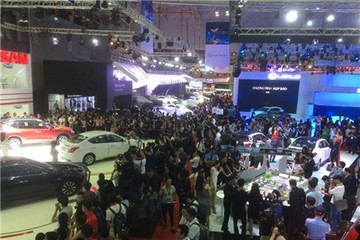 Triển lãm ô tô Việt Nam 2017 chính thức khai mạc