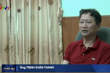 Trịnh Xuân Thanh: 'Tôi đã xin tự thú'