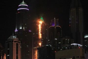 Cháy chung cư 86 tầng ở Dubai