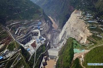 Trung Quốc xây đập thủy điện lớn thứ 2 thế giới