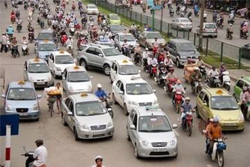 Thêm hàng loạt tuyến phố tại Hà Nội cấm taxi hoạt động trong giờ cao điểm
