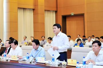 Chủ tịch Hà Nội thừa nhận đô thị còn nhếch nhác, xử lý vi phạm tại nhà 8B Lê Trực chậm