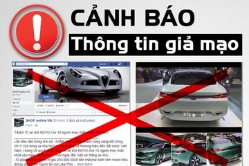 Thực hư chuyện Kia Motors Việt Nam tặng 10 xe miễn phí