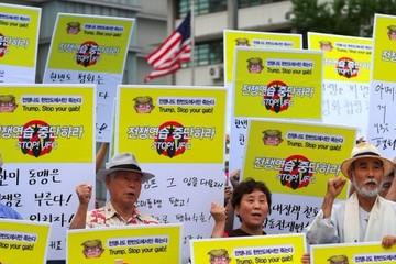 Mỹ - Hàn tập trận chung, Triều Tiên cảnh báo