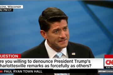 Chủ tịch Hạ viện Mỹ: Tổng thống Trump đã phạm sai lầm trong vụ Charlottesville