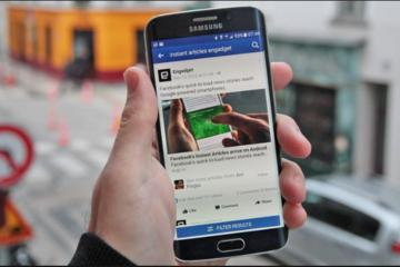Mark Zuckerberg đưa tính năng trả tiền xem báo lên Facebook