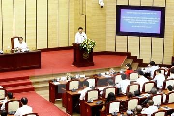 Chủ tịch Hà Nội hứa sẽ xây dựng trung tâm hỗ trợ khởi nghiệp